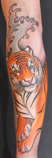 A minds eye tattoo tattoos tony adamson tiger for Wild zero tattoo