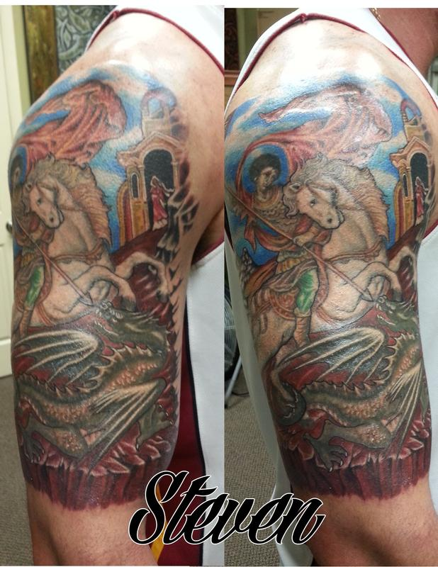St george by steve cornicelli tattoonow for Tattoo shops in st george