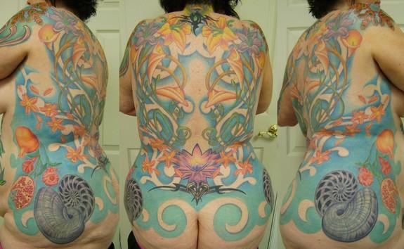 Art Nouveau Flower Tattoo: Art Nouveau'ish By Gabriel Cece : Tattoos