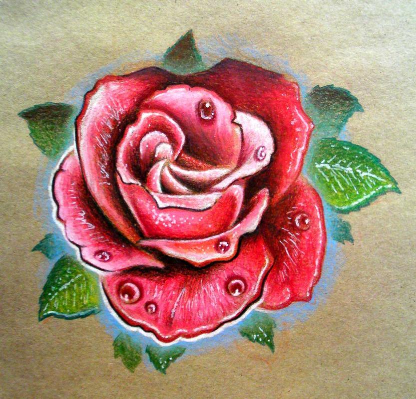 Роза олдскул