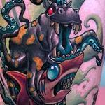 Cephlapodopus? Tattoo Design Thumbnail